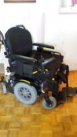 Electric wheelchair - large