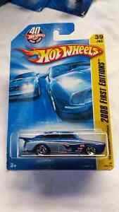 HOT WHEELS 65 VOLKSWAGEN FASTBACK 2008 FIRST EDITIONS 40 YEARS