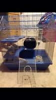 Hamster Cage with Toy