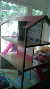 Wooden - Barbie doll house