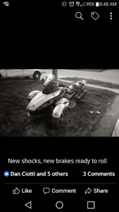 2008 Canam Spyder Premiere Edition number 3626