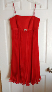 Red Alfred Angelo dress
