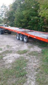 48ft trailer 9ton 5th wheel