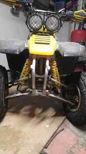 Atv vtt Yamaha warrior 350 1999 with papers