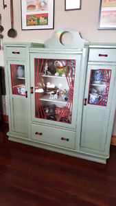 50s China cabinet for sale.