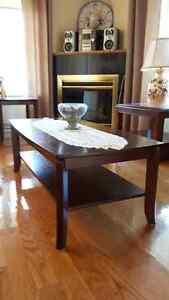sofa,lampe,chaise, fauteuil inclinable,téléviseur,tables West Island Greater Montréal image 1