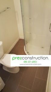 BASEMT RENOVATIONS + WASHROOM RENOVATIONS AND REMODELING Kitchener / Waterloo Kitchener Area image 1