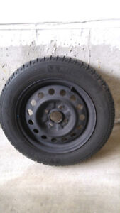 Michelin Winter Tires 195 60 15 with 4 114 Steel Rims