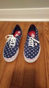 Vans 'off the wall' Toronto Blue Jays Mens running shoes