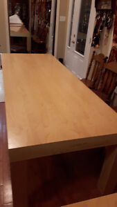 8 ft Wooden Table