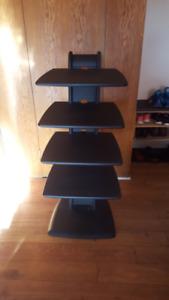 Solid wood Five level shelf