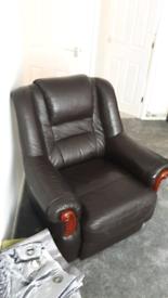 Leather Chair Black originally Next Home