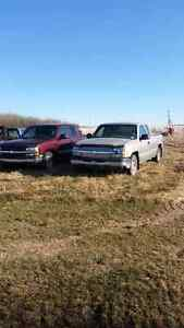2003 and 2001 CHEVYS