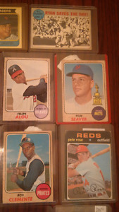Lot de cartes de baseball  anciens/ vintage baseball cards