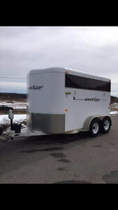 TRAILS WEST 2 Horse Slant Load Trailer, new tires, water tank...