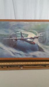 Art - Paul Fjeld- Alleghenny  Commuter Plane