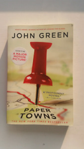 YA/Teen Book - PAPER TOWNS