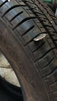 P205/55R16 4 new good year eagle tires only about 2000 Kms