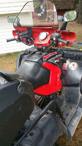 Polaris twin ATV great condition with winch. 2000lbs