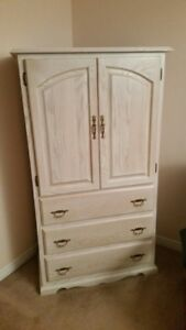 Dresser /Armoire with matching night table  Move out sale