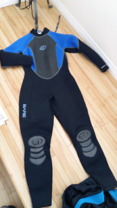 Wetsuit.  Wet suits. Various sizes and prices.  $35-90