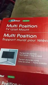 """Brand New Multi position TV Wall mount for 37"""" - 65"""""""