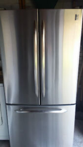 GE Profile Stainless Fridge/Freezer. Delivery Included.