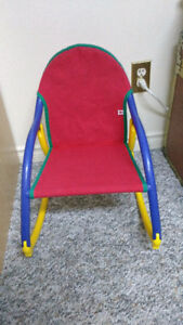 child's folding rocking chair