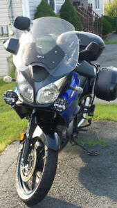 2007 SUZUKI V-STROM  1000 ADVENTURE TOURING-BOUGHT   NEW 2009