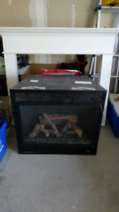 Lennox Gas Fireplace Insert with Mantel