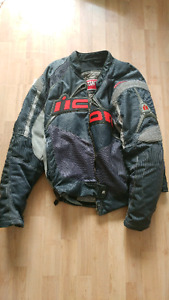 Icon Contra Motorcycle Jacket (size L)