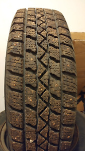 175/70R14 Studded Winter TXi M+S tires with rims
