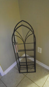 wrought Iron CD Tower