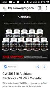Fitness and bodybuilding sarms and anabolics