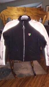 Ladies armoured motorcycle jackets - black