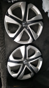 Honda and Ford hubcaps