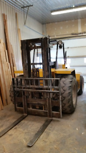 Sellick Rough Terrain Forklift