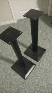 Sanus Bookshelf Speaker stands, Quite nice, very stable.........