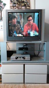32In. LG TV with matching Stand