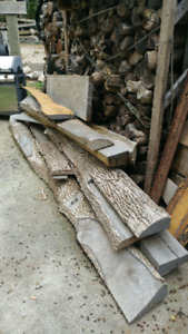 Live edge wood solid ask. Great price