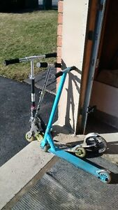 Only 1 of 3 Scooters left - Green one available