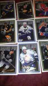 Topps hockey card set.