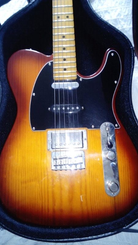 Fender telecaster HSS, TRADE  | in Airdrie, North Lanarkshire | Gumtree