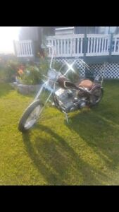 NO TRADES  One Of A Kind Custom Built Bobber 100CI