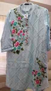 Agha Noor original shirts r available at inaaya's collection