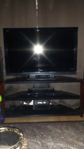 46' LCD Sony TV  & Stand