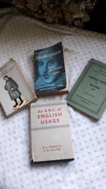 Books Shakespeare milton chaucer