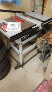 """Delta 10"""" direct drive table saw"""