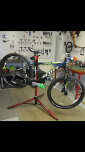 Cheap bicycle repairs, tune ups. Cheaper, faster than bike shops