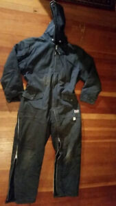 Insulated Overall with Hood - Coverall